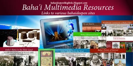blog bahai multimedia links