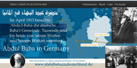 site abdul baha in germany