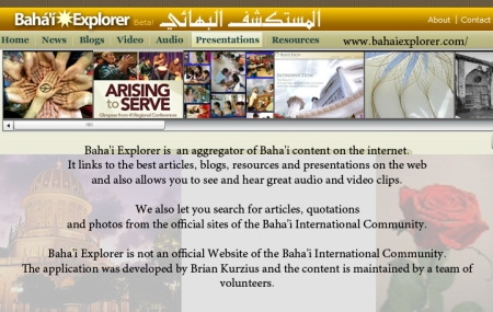 site bahai explorer