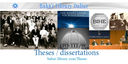 site baha'i universities theses