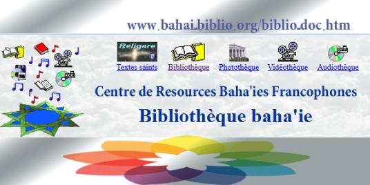 site biblio bahai fr