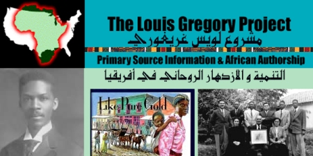 site louis gregory project
