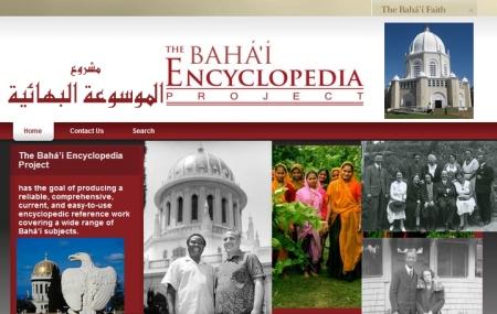 site projet enecyclop baha'i