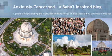 blog Baha'i-inspired