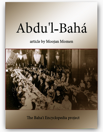 book abdul baha article