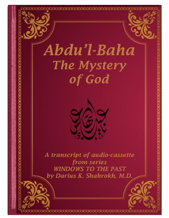 book abdul baha by dariush