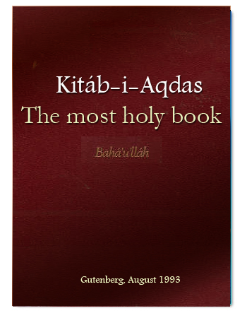 Baha i holy book pdf