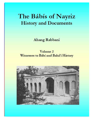 book babis of nayriz