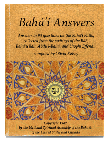 book baha'i answers