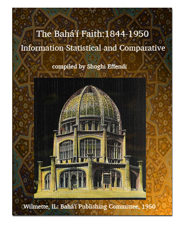 book bahai faith 1844-1950