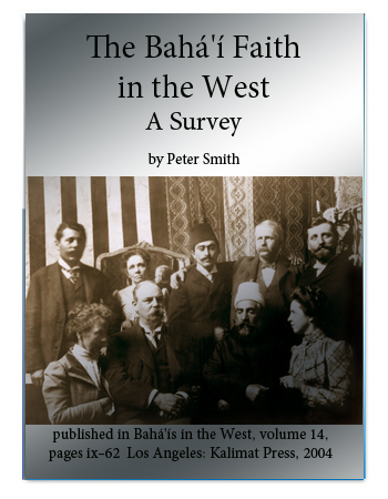 book bahai faith in the west