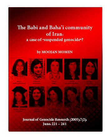 book baha'i genocid