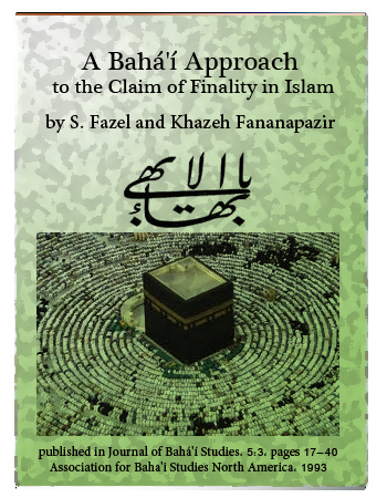 book bahai islam finitude
