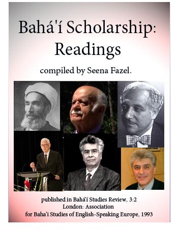 book bahai scholarship