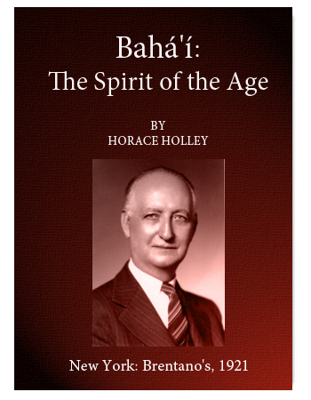 book bahai the spirit of the age