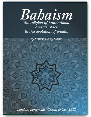 book bahaism 1912