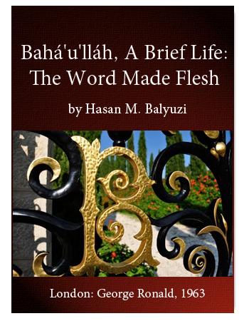 book bahaullah breflife