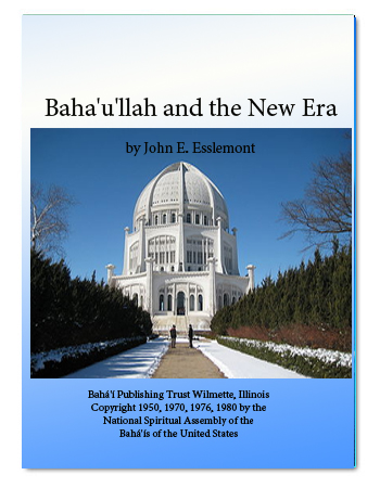 book baha'ullah new era