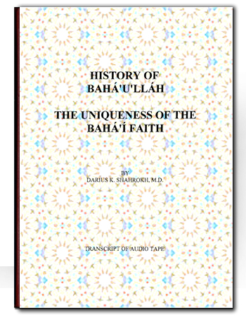 book history of baha by dariush