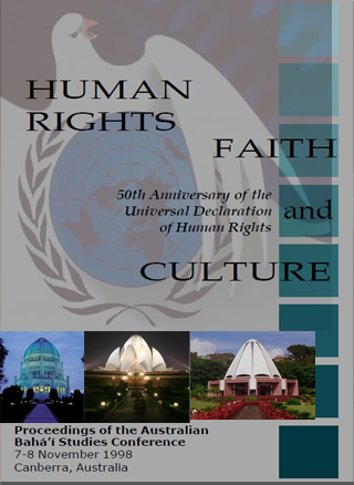 book human rights bahai culture
