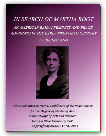 book in search of martha root