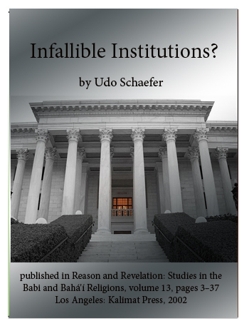 book infallible institutions