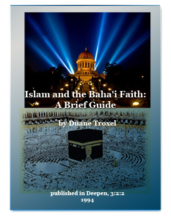 book islam and bahai faith