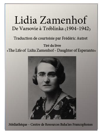 book Lidia Zamenhof
