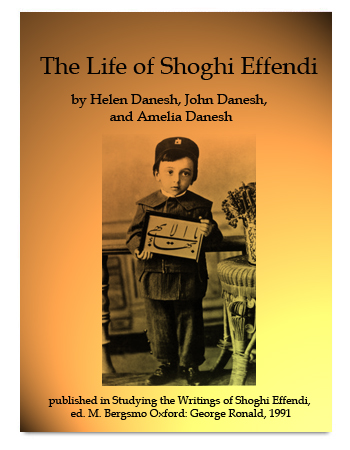 book life of shoghi