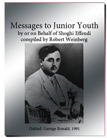 book messages to junior youth