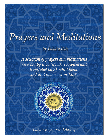 book prayers and meditation