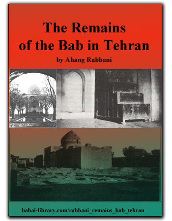book remains of the bab tehran
