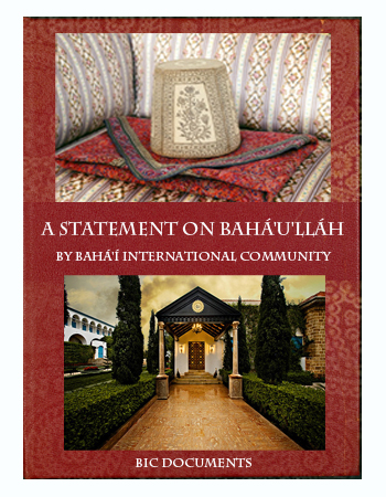 book statement baha'ullah