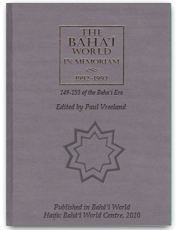book the baha'i memoriam
