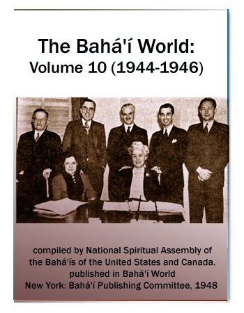 book the bahai world v10