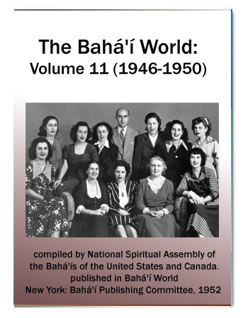 book the bahai world v11