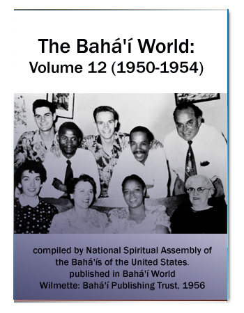 book the bahai world v12