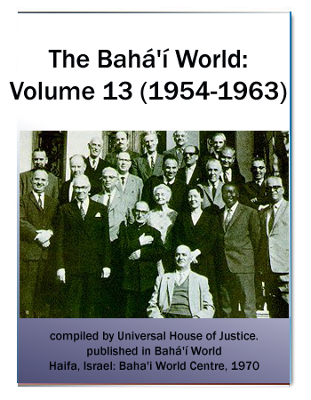 book the bahai world v13