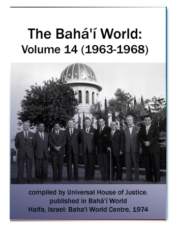 book the bahai world v14