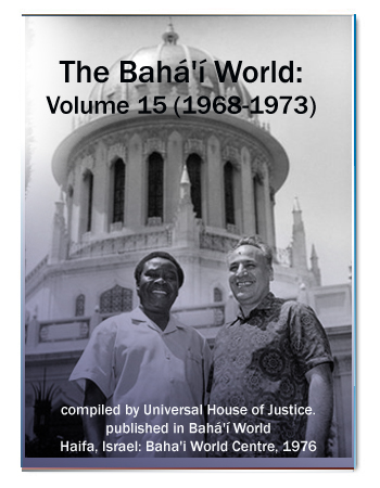 book the bahai world v15