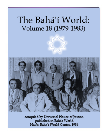 book the bahai world v18