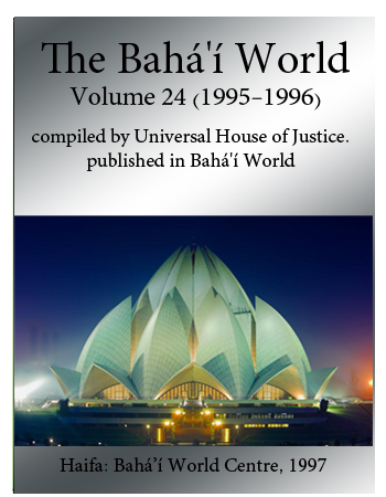 book the bahai world v24