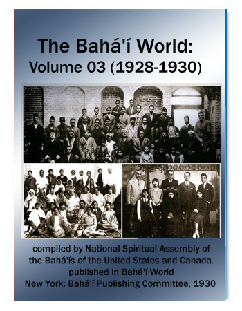 book the bahai world v3