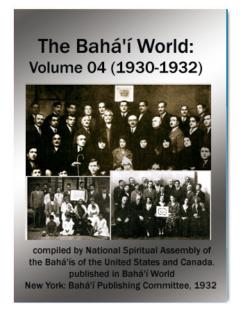 book the bahai world v4