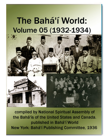 book the bahai world v5