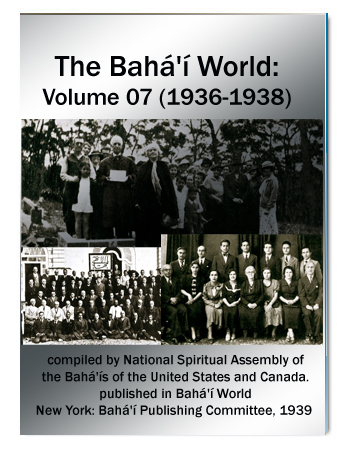 book the bahai world v7