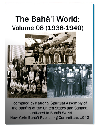 book the bahai world v8