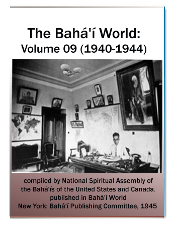 book the bahai world v9