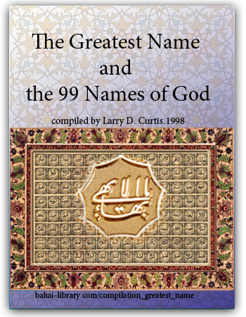 book the greatest name