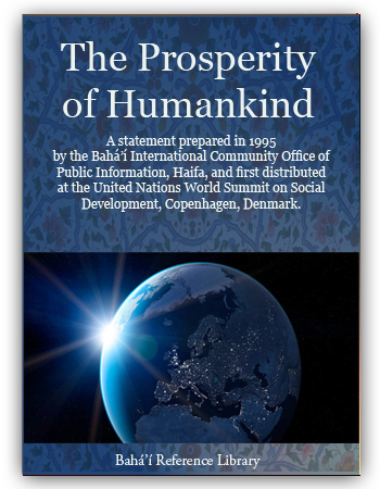 book the prosperity of humankind